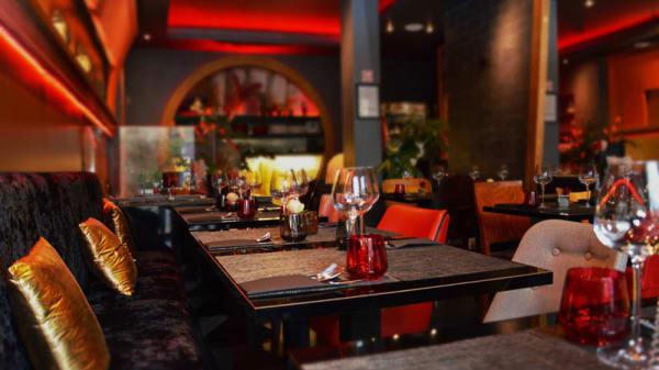 la salle du restaurant - Piment thaï 21, Paris