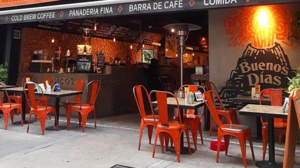 Vista sala - Boicot Café (Condesa), Ciudad de México