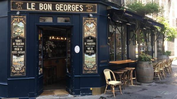 Entrée - Le Bon Georges, Paris