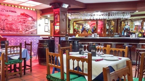 Sala del restaurante - La Fonda, Montefrio