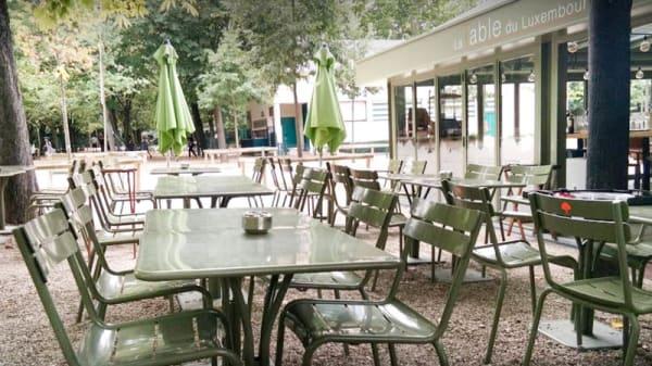 Terrasse - La Table du Luxembourg, Paris