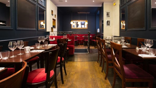 Salle du restaurant - Le Cosy, Paris