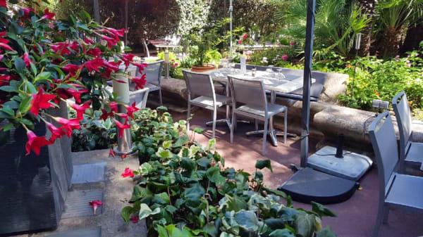 Terrasse et jardin - La Brasserie Tradition et Gourmandise, Saint-Raphaël