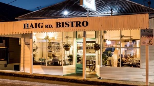 Entrance - Haig Rd Bistro, Auchenflower (QLD)