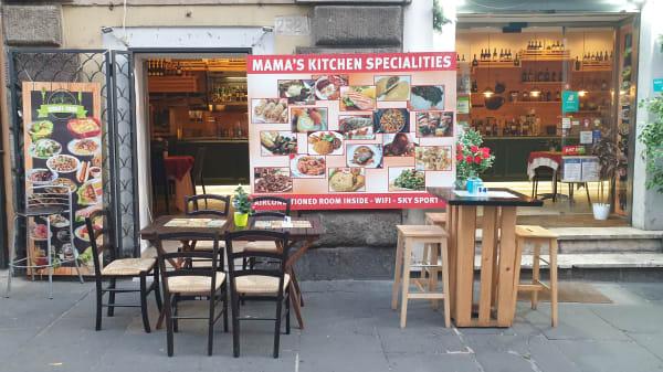Esterno - Mama's Kitchen, Roma