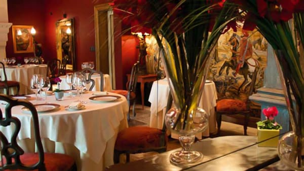 Vue de la salle - Hôtel Restaurant Villa Mazarin, Aigues-Mortes