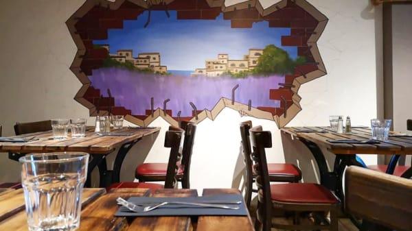 Vue de la salle - À la Maison, Marseille