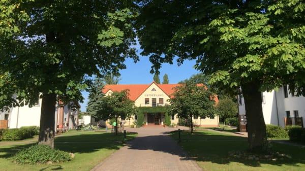 Eingang - Diedrich´s im Ostseeland, Rostock
