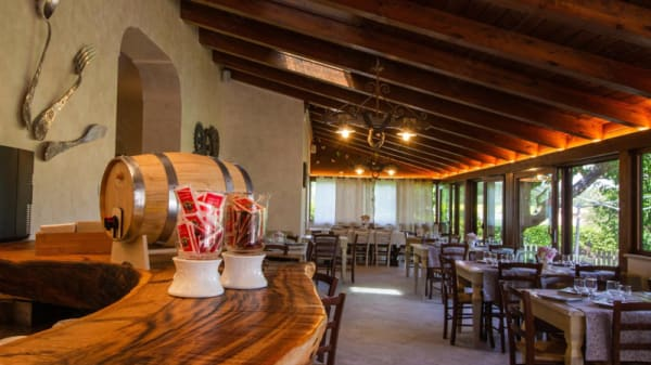 Vista sala - Ristorante Pizzeria Baldassari, Avendita