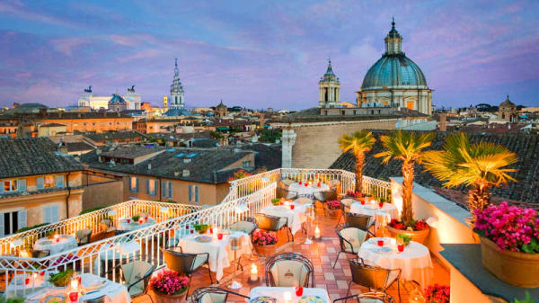 La terrazza con vista su Roma - Mater Terrae, Rome