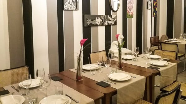 Sala del restaurante - Elisa18, Ciudad Real