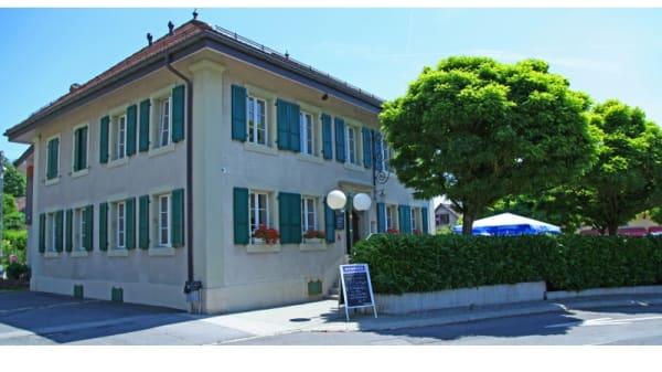 Devanture - Auberge Communale Du Mont-sur-Lausanne, Le Mont-sur-Lausanne