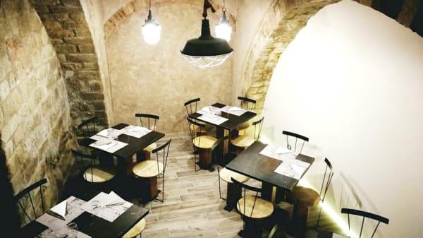 Veduta sala - Osteria Numero13, Perugia