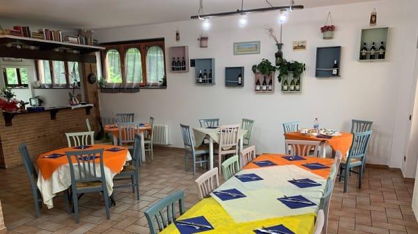 Sala - Trattoria Pizzeria Ponte Marchetto, Assisi