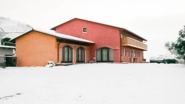 vista nella neve - La Preara, Brognoligo di Monteforte D'Alpone