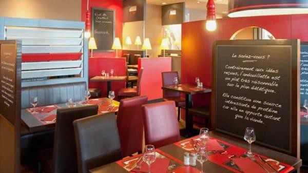 Vue de la salle - Poivre Rouge - Courtaboeuf, Villejust