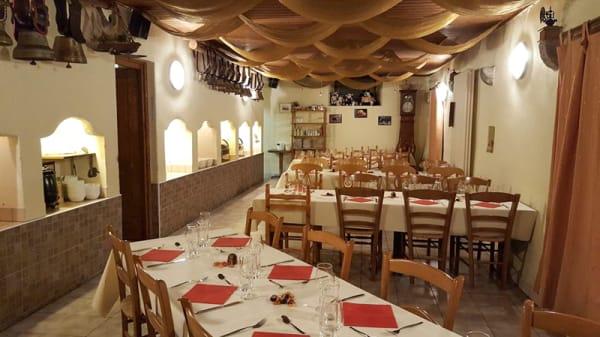 Vue de la salle - La Ferme aux Cretegny, Bussy-Chardonney