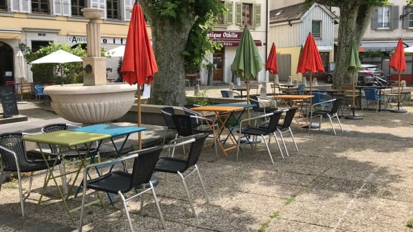 Terrasse - Café du Tessin, Carouge