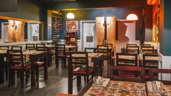 Sala do restaurante - Tapabento Trindade, Porto