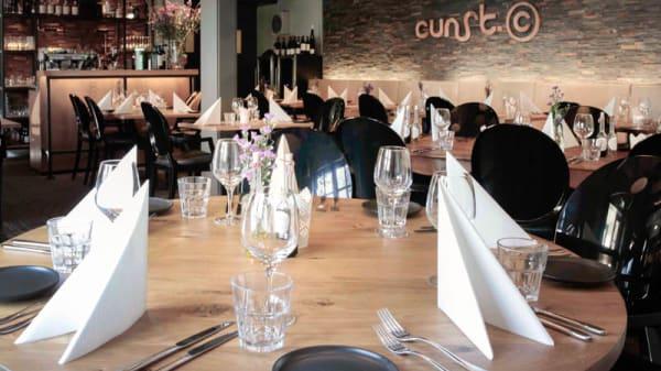 restaurantzaal - Cunst, Bergen
