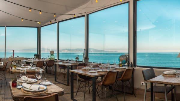 Sala del restaurante - Ultramar, L'Escala
