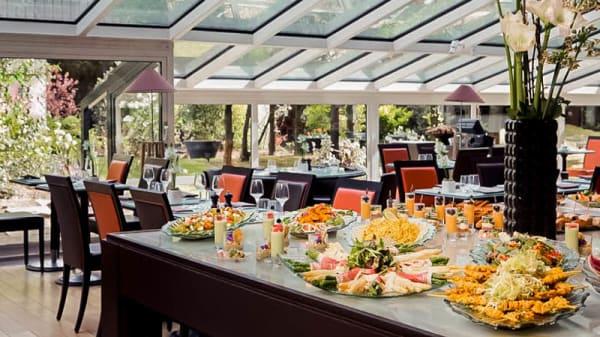 buffet  brunch - Just'in - Hôtel Pullman Paris Montparnasse, Paris