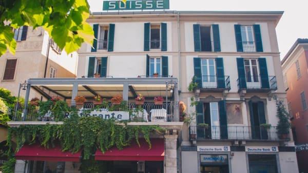 Facciata - Suisse Restaurant, Bellagio