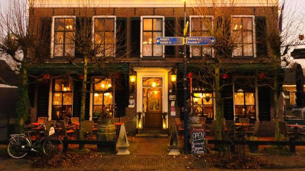 Ingang - Restaurant Bergsma Easterein, Easterein