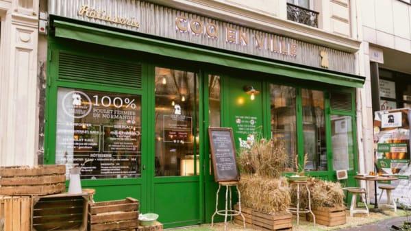 Devanture - Coq en Ville, Paris