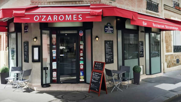 Devanture - O'Zaromes, Paris