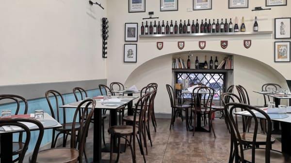 Vista sala - Osteria Angolino, Napoli