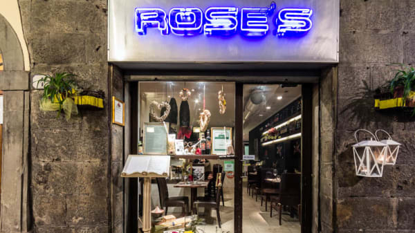 La entrata - Rose's, Firenze