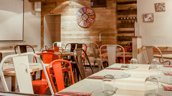 interior comedor - 39 Restaurante, Madrid