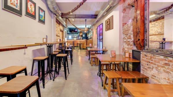 Sala del restaurante - La Usina, Madrid