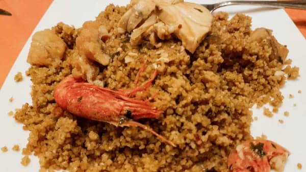 Cous cous di pesce - Luna Rossa, Marsala