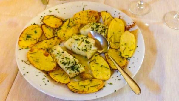 Baccalà al forno con patate - Le Mangiatoie, L'Aquila
