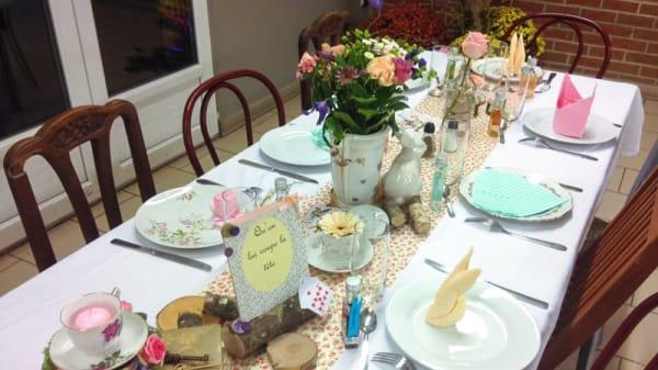 Table dressée - Chez le Père Ducoin, Trélon