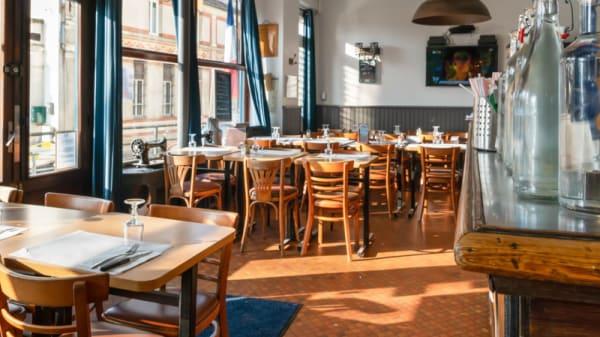 Salle du restaurant - Restaurant Brasserie Paris, Bièvres