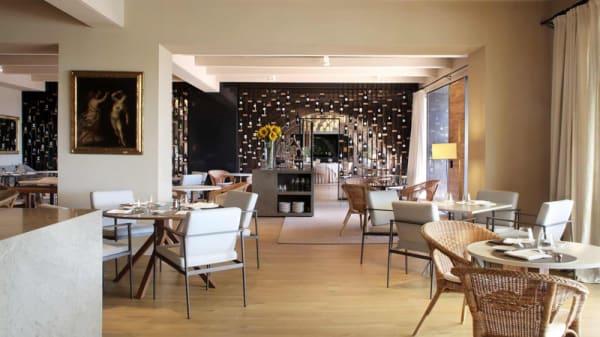 Sala del restaurante - L'Olivera, Perelada