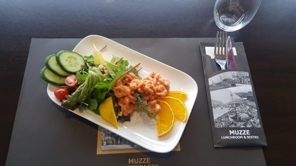 Garnalencoctail - Muzze Restaurant, Vlaardingen