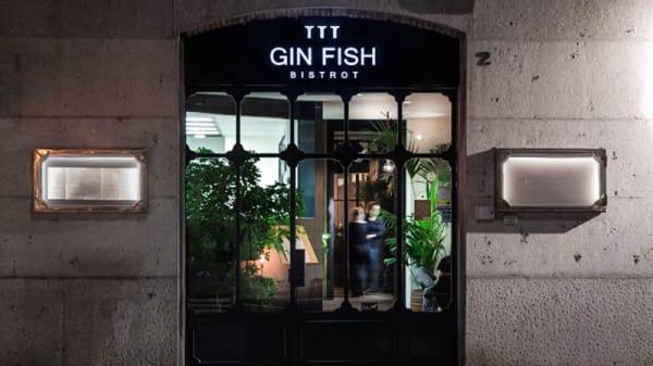 Entrata - Gin Fish Bistrot, Bergamo