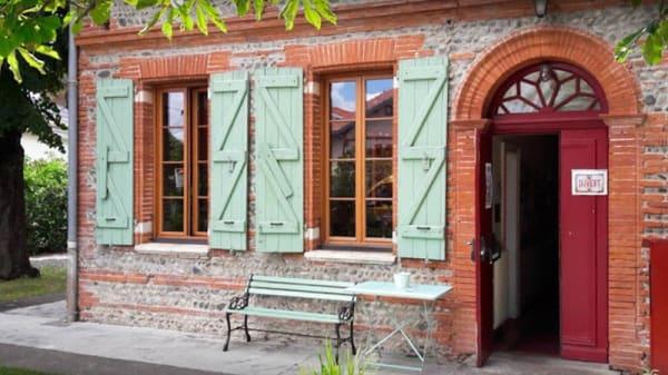 Entrée - Café culturel - restaurant Folles Saisons, Toulouse