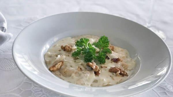 Sugerencia de plato - Vesubio, Costa Teguise