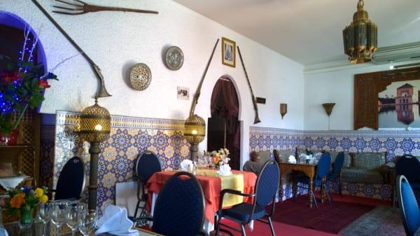 Vue de la salle - Le Petit Darkoum, Beaulieu-sur-Mer