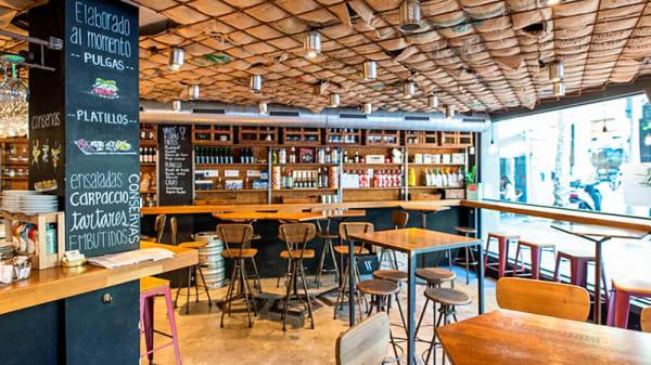 Vista del interior - 4 Latas, Barcelona
