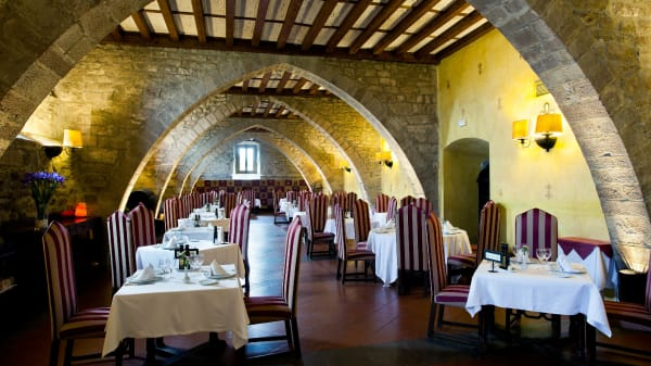 Vista sala - Restaurante Parador de Cardona, Cardona