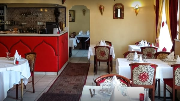 Salle du restaurant - Soleil de Marrakech, Baulne