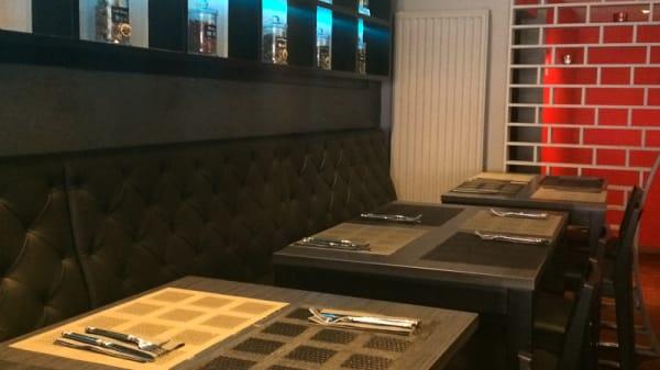 Salle du restaurant - Yi Chan, Bruxelles