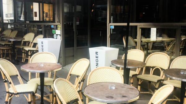 Terrazza - L'Arc Café, Paris
