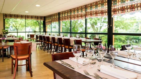 La salle du restaurant - Le Floréal, Cesson-Sévigné